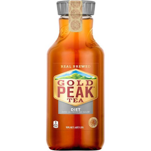 Gold Peak Diet Iced Tea Drink - 52 Fl