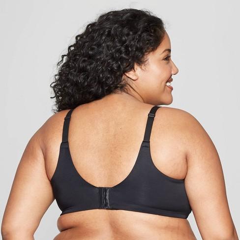 0ce65df142667 Women s Plus Size Wirefree Bra - Auden™ Black 48D   Target