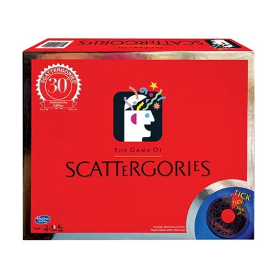 The Game of Scattergories - 30th Anniversary Edition