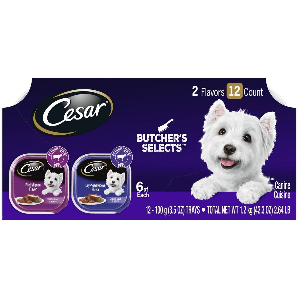 Cesar Classics Butcher Selects Wet Dog Food 12ct