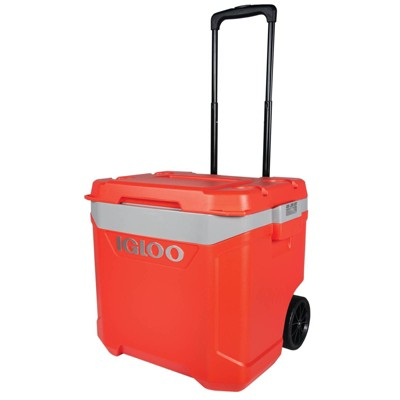 Igloo Latitude 60qt Roller Cooler - Red