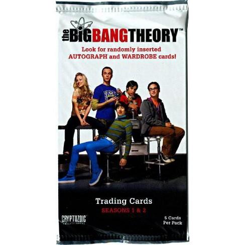 The Big Bang Theory Seasons 1 and 2 Trading Card Pack - image 1 of 1