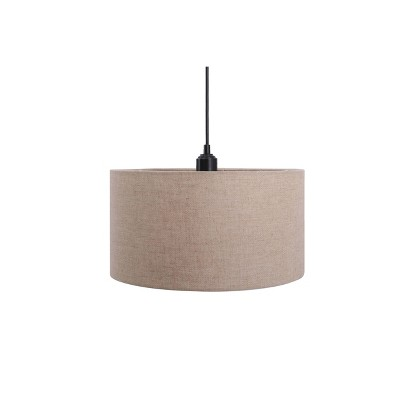 Pendant Drum Linen Shade Ceiling Light - Threshold™