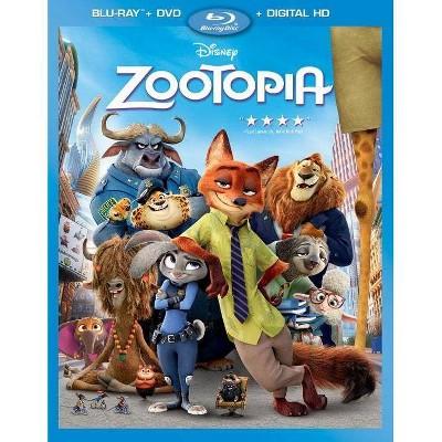 Zootopia (Blu-ray + DVD + Digital)