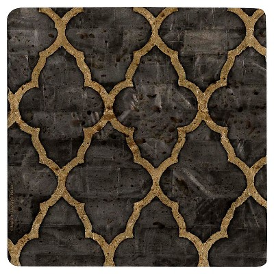 Thirstystone Black Travertine Trivet