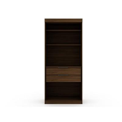 Mulberry 1 Open Sectional Closet - Manhattan Comfort