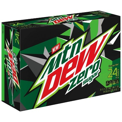 Mountain Dew Zero Sugar - 24pk/12 fl oz Cans
