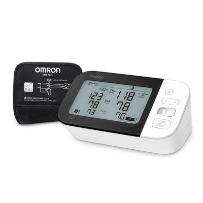 Omron 7 Series Upper Arm Blood Pressure Monitor with Cuff - Fits Standard and Large Arms