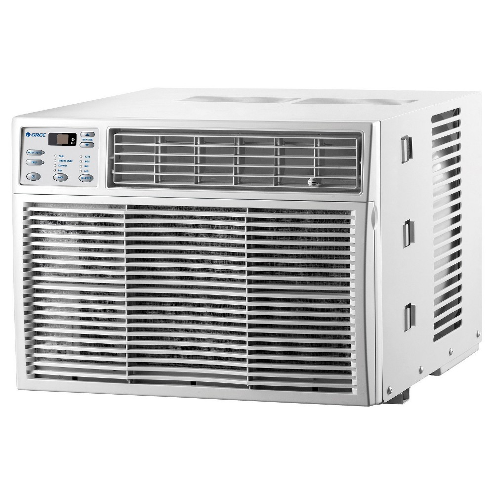 Gree - 12000-Btu Air Conditioner with i-Feel Remote - White