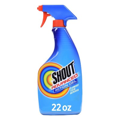 Shout Advanced Action Gel Laundry Stain Remover Spray - 22 fl oz