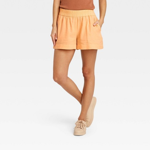 Women's High-Rise Pull-On Shorts - A New Day™ - image 1 of 3
