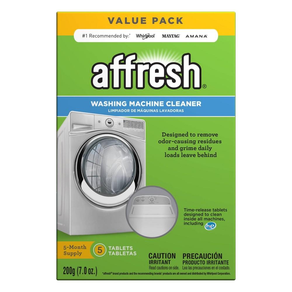 Affresh Washing Machine Cleaner - 5ct Affresh Washing Machine Cleaner - 5ct Size: 5 Count.