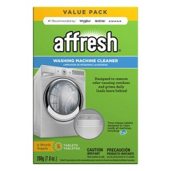 Affresh Washing Machine Cleaner - 5ct
