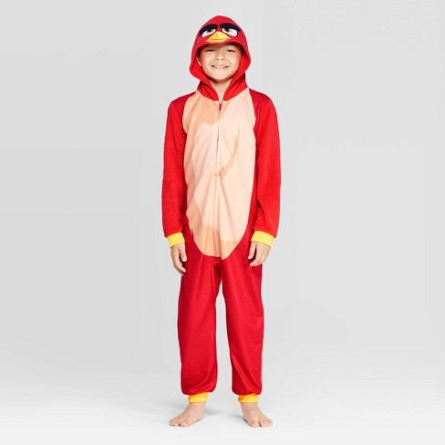 Boys' Angry Birds Union Suit - Red - image 1 of 3