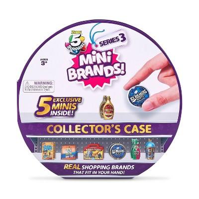 5 Surprise Mini Brands Series 3 Collector Case