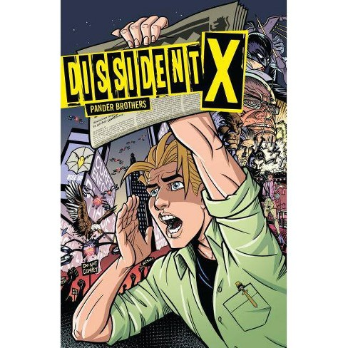 Dissident X - by  Arnold Pander & Jacob Pander (Paperback) - image 1 of 1
