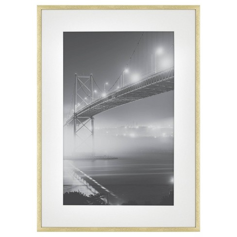 Thin Metal Matted Gallery Frame Gold - Project 62™ - image 1 of 4