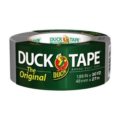 The Original Duck Brand Duct Tape Silver 30yd