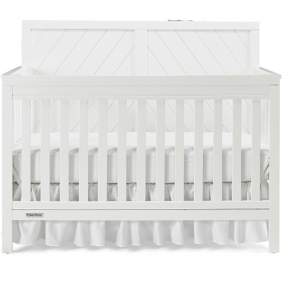 Fisher-Price Standard Full-sized Crib White