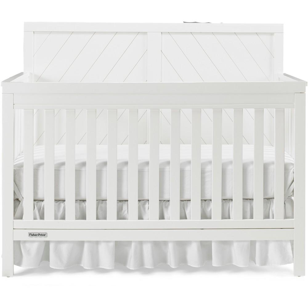 Fisher-Price Standard Full-sized Crib White