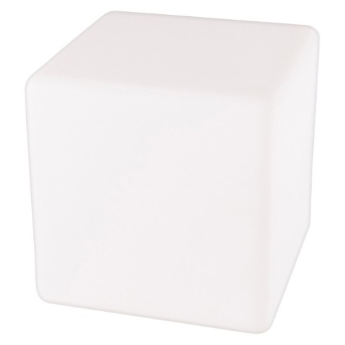 "Allsop Glow 12"" Cube Outdoor Table Lamp - White - Mooni - image 1 of 1"
