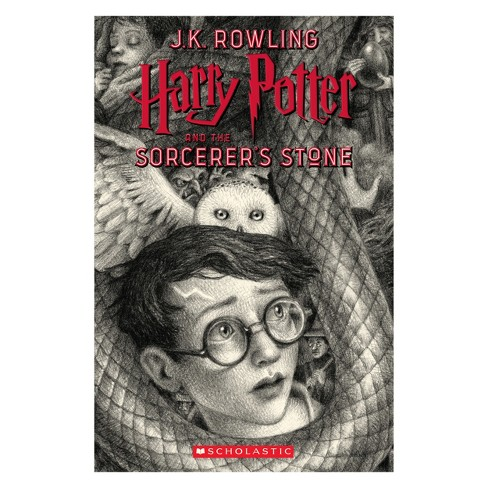 Harry Potter and the Sorcerer's Stone -  (Harry Potter) by J. K. Rowling (Paperback) - image 1 of 1