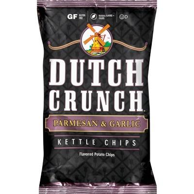 Old Dutch Parmesan & Garlic Kettle Chips - 9oz