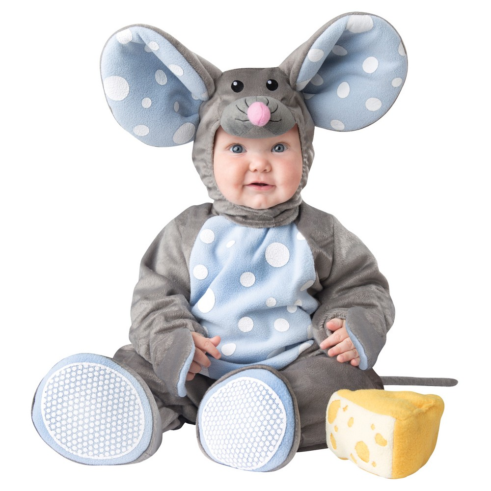 Boys' Lil' Mouse Toddler Costume 6-12 Months, Size: 6-12M, Multicolored