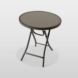 Folding Patio Accent Table - Room Essentials™