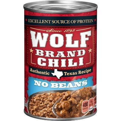 Wolf Brand Chilli - 24oz