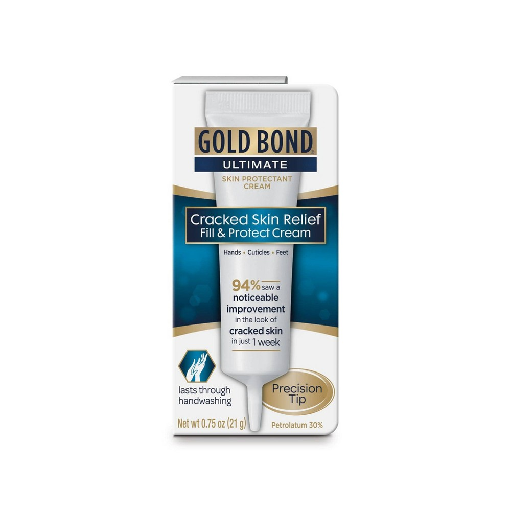 Image of Gold Bond Ultimate Cracked Skin Relief Fill and Protect Cream - 0.75oz