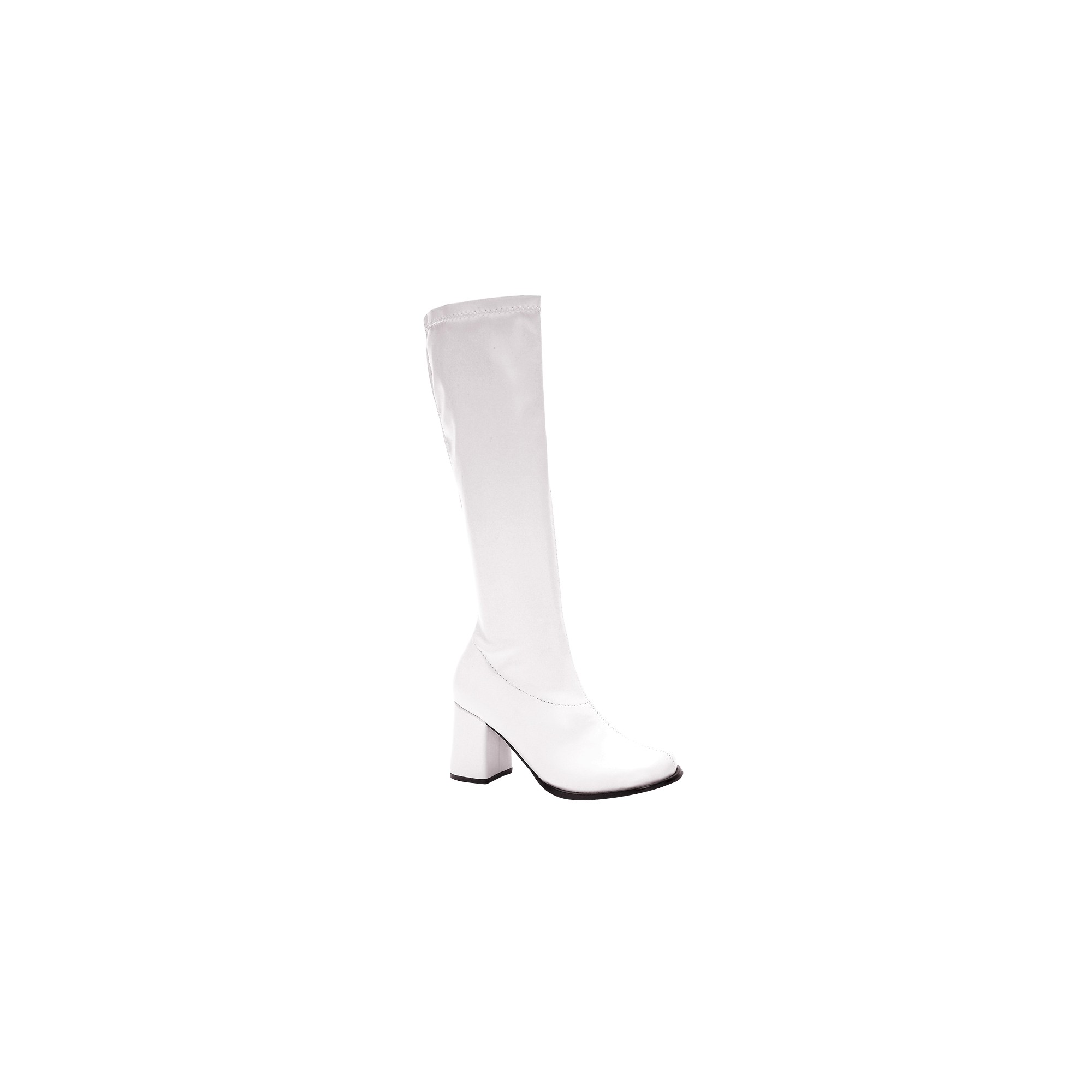 Halloween Adult Gogo Boots White Costume Size 9, Women's