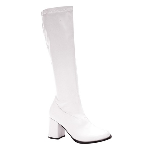 73e1f46a1393 Adult Gogo Boots White Costume   Target