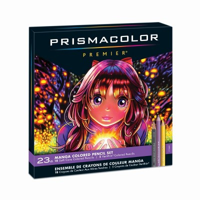 Prismacolor 23ct Colored Pencil Set - Manga