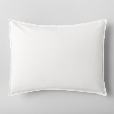 White Solid Sham (Standard)- Made By Design™