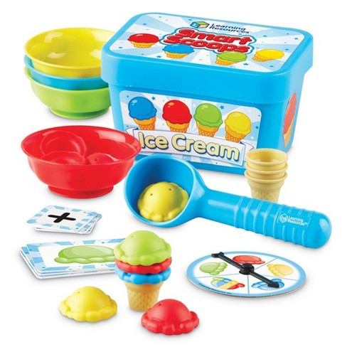 Learning Resources Smart Scoops Math Activity Set, 50 Pieces, Ages 3+ - image 1 of 4
