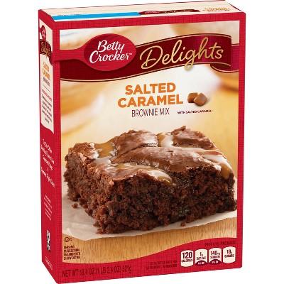 Betty Crocker Salted Caramel Brownie Mix - 18.4oz