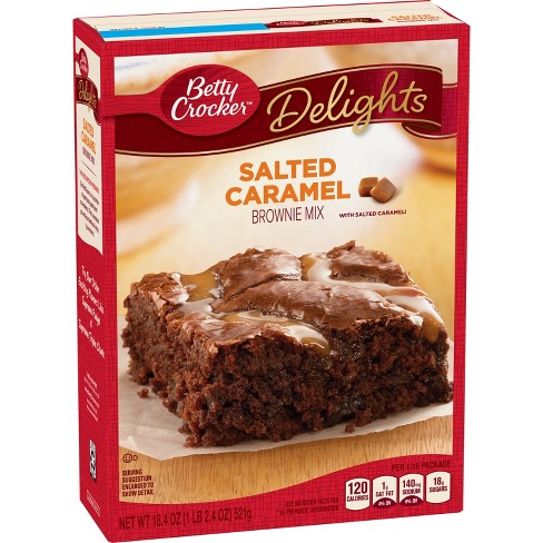 Betty Crocker Salted Caramel Brownie Mix 18 4oz Target