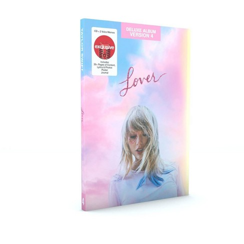 Taylor Swift - Lover (Target Exclusive Deluxe Version 4 CD) - image 1 of 1