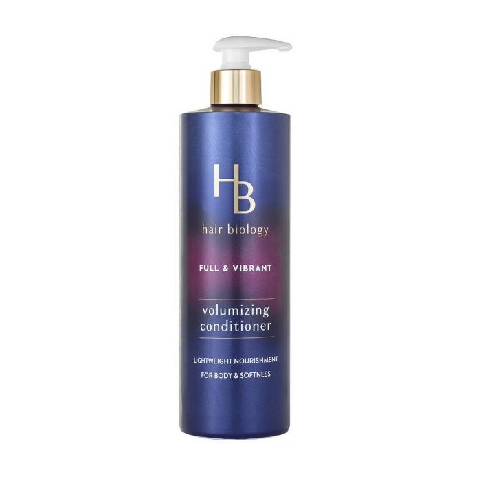 Hair Biology Volumizing Conditioner With Biotin Full & Vibrant For Fine Or Thin Hair - 12.8 Fl Oz : Target