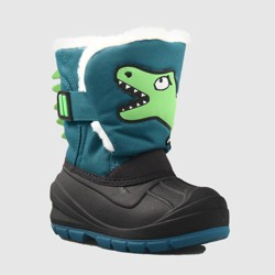 Toddler Boys' Huxley Dinosaur Winter Boots - Cat & Jack™ Green