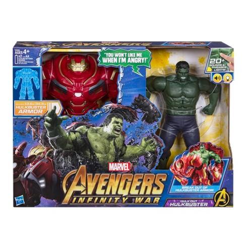 marvel avengers infinity war hulk out hulkbuster target