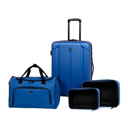 Skyline 4pc Hardside Luggage Set - Blue - image 1 of 4