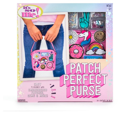It's So Me!™ Patch Perfect Purse - image 1 of 4
