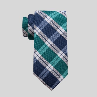 Men's Plaid Malsby Grid Tie - Goodfellow & Co™ Green One Size