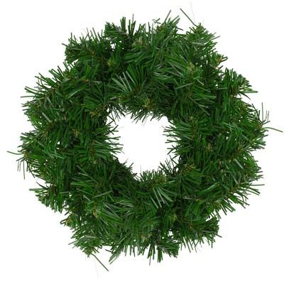 """Northlight 8"""" Unlit Deluxe Windsor Pine Artificial Christmas Wreath"""