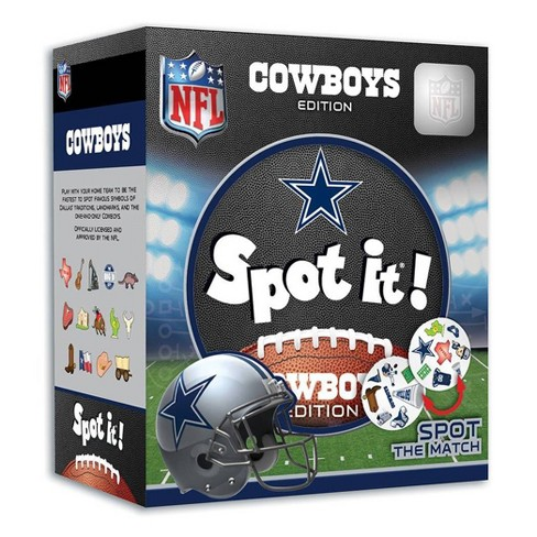 NFL Dallas Cowboys Spot It Game - image 1 of 3