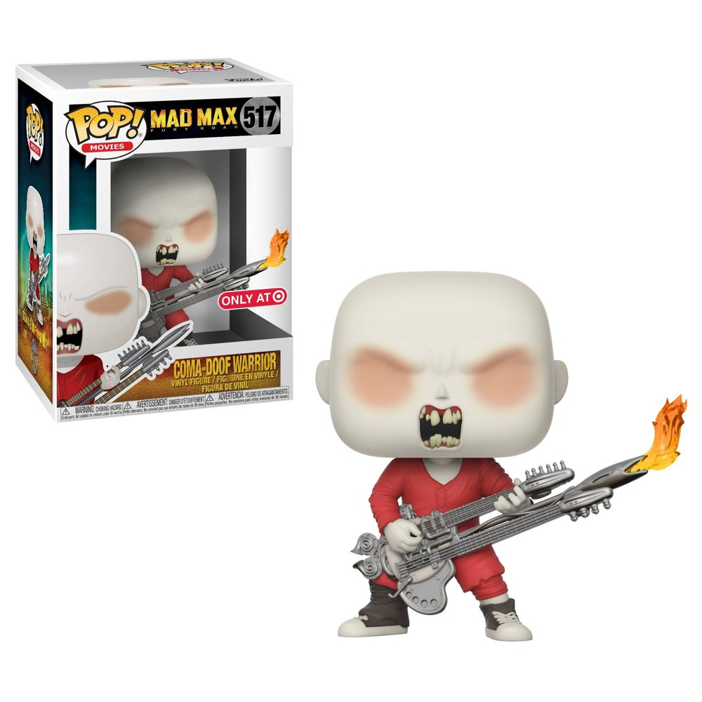 Image of Funko POP! Movies: Mad Max Fury Road - Coma Doof Warrior