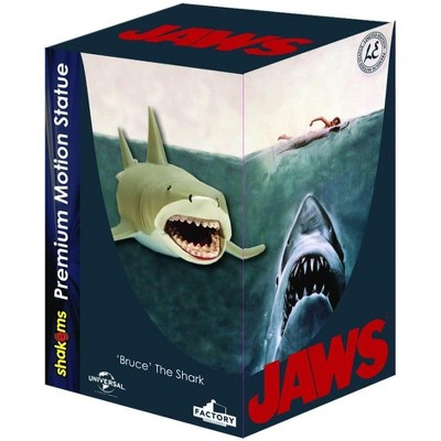 Factory Entertainment JAWS Bruce the Shark 7.5 Inch Premium Motion Statue