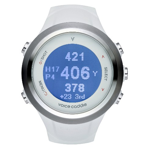 Voice Caddie T-2 Hybrid Golf GPS Watch - White - image 1 of 2